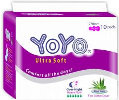 Sanitary Napkin - YoYo Ultra Soft NIGHT USE