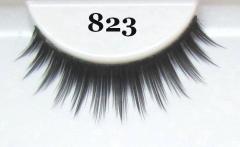 Polished eyelash