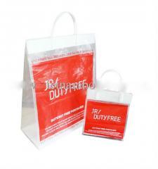 Rigid handle bag, hard handle bag, snap tote bag,
