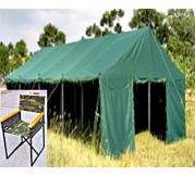 Army tent tarpaulin