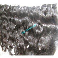 24_inch_wavy_human_weave_hair_single_drawn