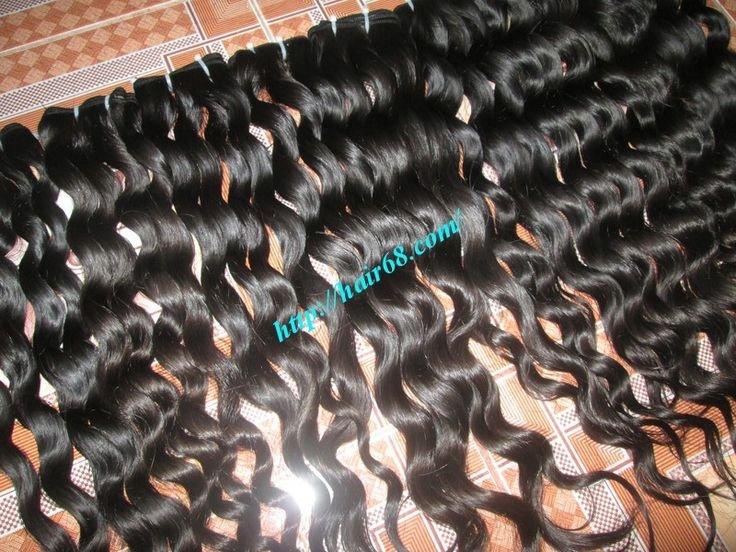 28_inch_cheap_wavy_weave_human_hair_single_drawn