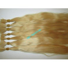 8_inch_cheap_blonde_human_hair_extensions_straight
