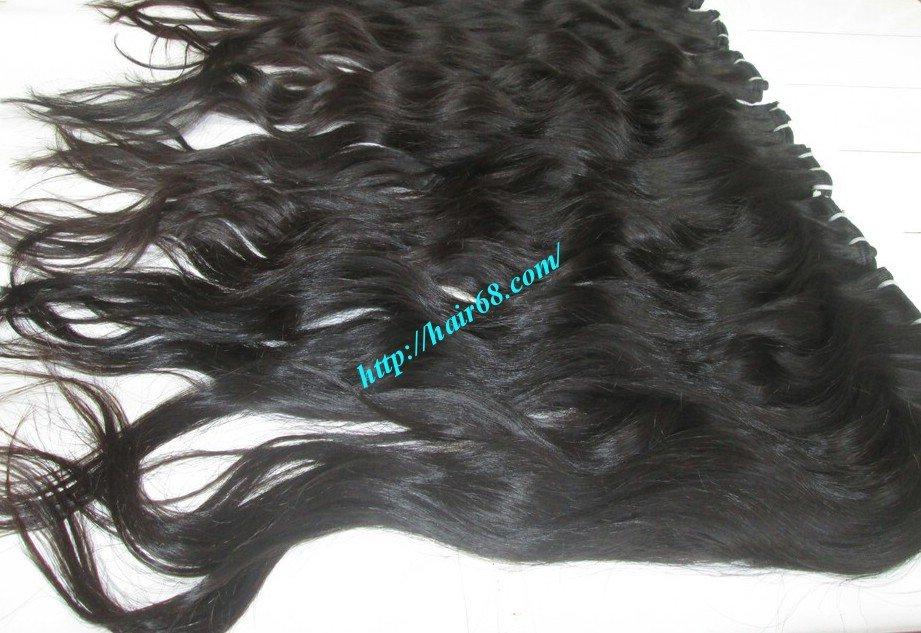 10_inch_wavy_weave_human_hair_single_drawn