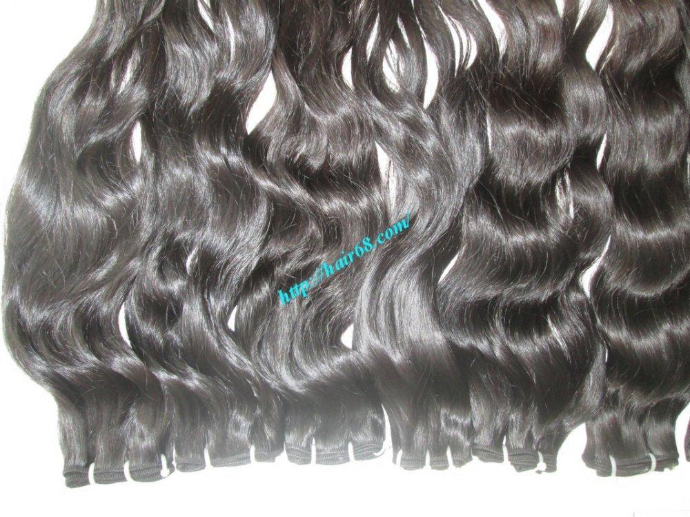 8_inch_best_wavy_weave_hair_single_drawn