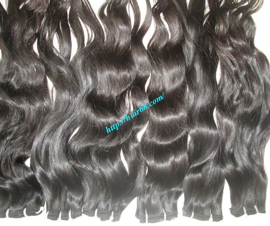 8_inch_best_wavy_weave_hair_single_drawn