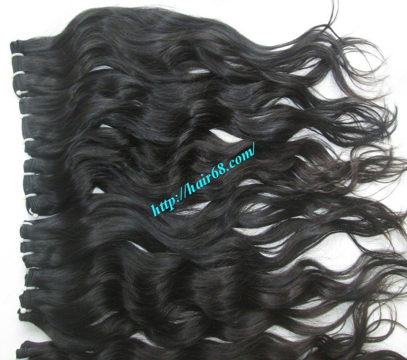 10_inch_wavy_weave_human_hair_single_drawn