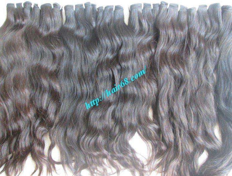 18_inch_wavy_weave_human_hair_single_drawn
