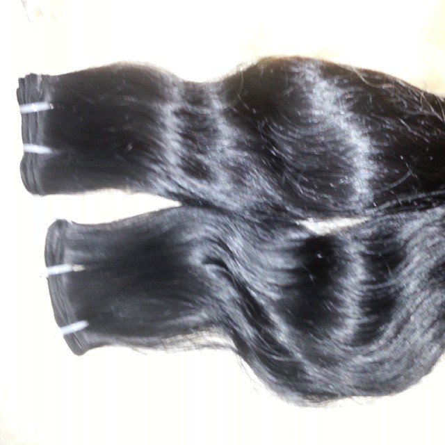 12_inch_wavy_hair_weave_extensions_single_drawn
