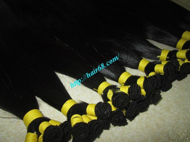 28_inch_hand_tied_remy_hair_weft_straight_single