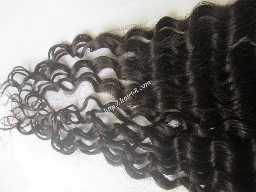 8_inch_remy_curly_weave_human_hair_single_drawn