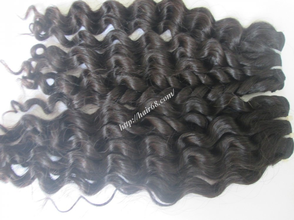14_inch_curly_weave_remy_hair_extensions_single