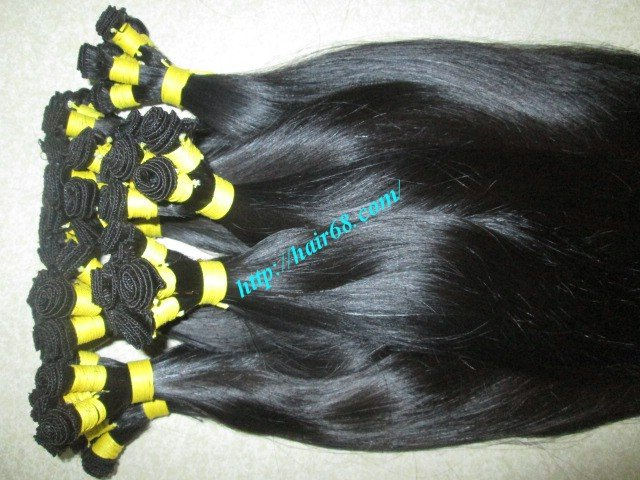 10_inch_hand_tied_human_hair_weft_straight_single