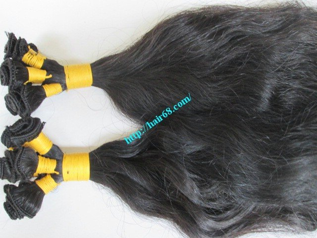 12_inch_hand_tied_weft_human_hair_extensions_wavy