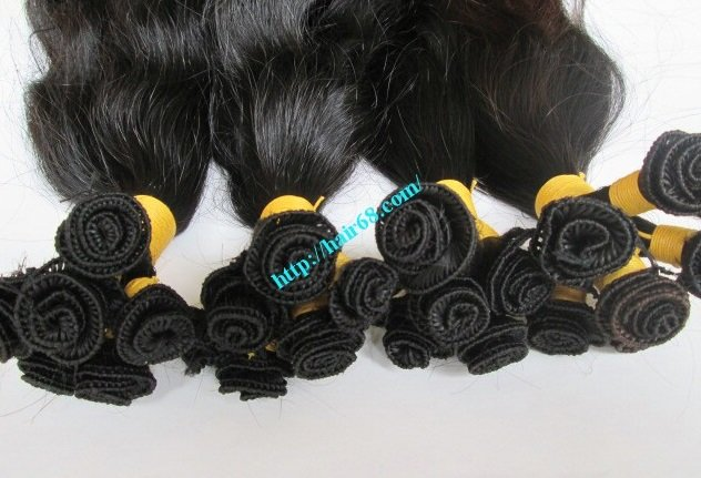 22_inch_hand_tied_human_hair_extensions_weft_wavy