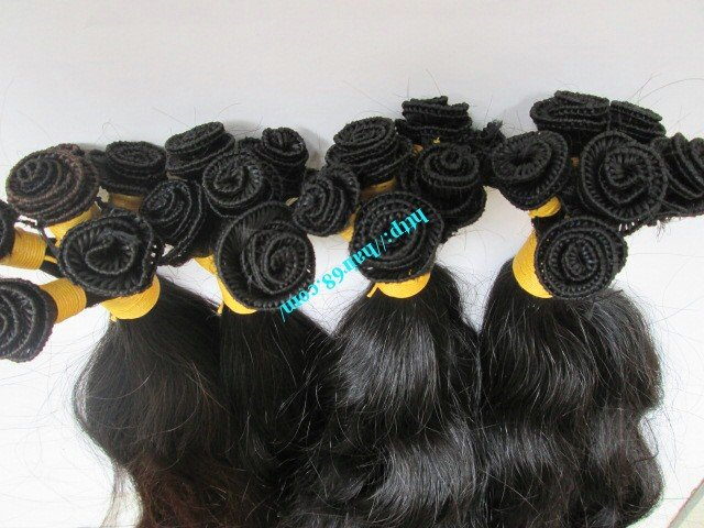 12_inch_hand_tied_remy_hair_weft_wavy_double