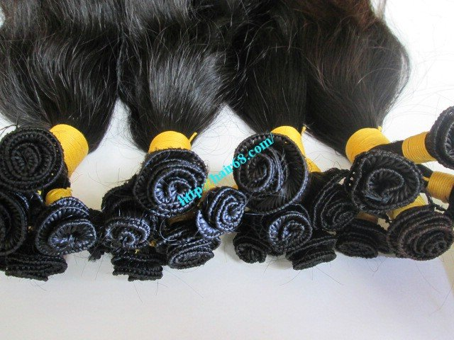 14_inch_hand_tied_remy_weft_hair_extensions_wavy