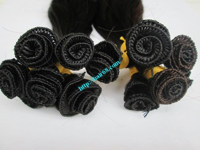 16_inch_hand_tied_human_hair_extensions_weft_wavy