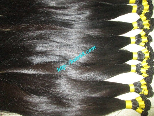8_inch_hand_tied_remy_hair_wefts_straight_double