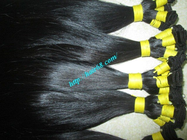 10_inch_hand_tied_human_hair_wefts_straight_double