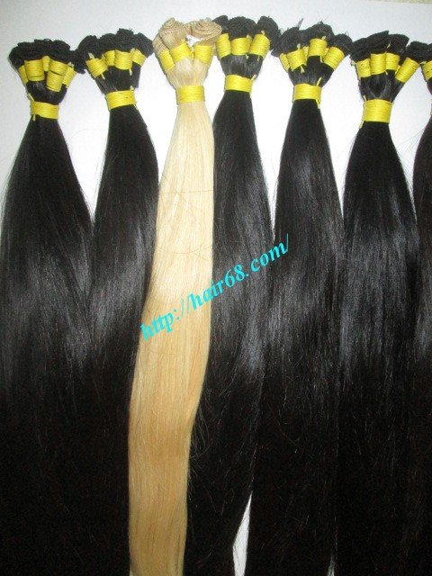 28_inch_hand_tied_human_hair_weft_straight_double
