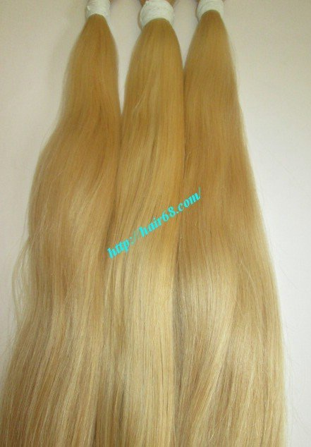 bulk_blonde_human_hair_straight_8_inch_32_inch