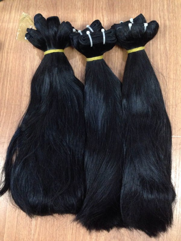 double_drawn_straight_weft_hair_with_high_quality