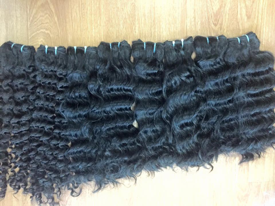 curly_weft_hair_with_top_quality