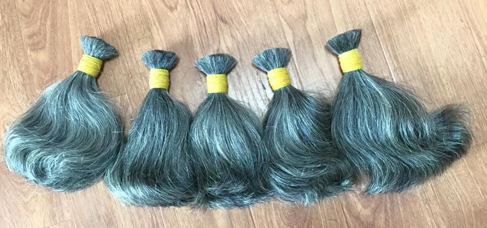 high_quality_grey_bulk_hair_35cm