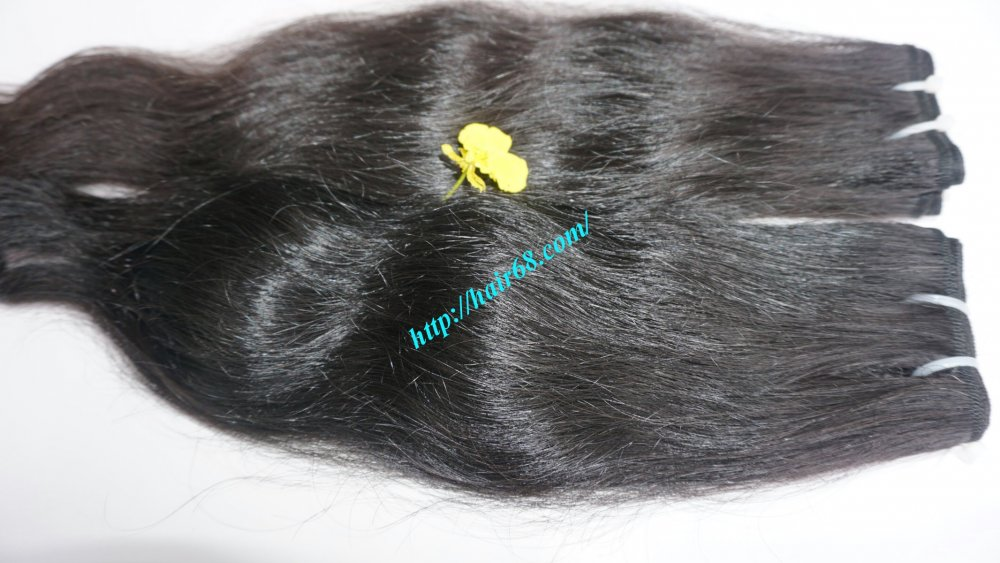 20_natural_wavy_hair_double_weave_virgin_hair