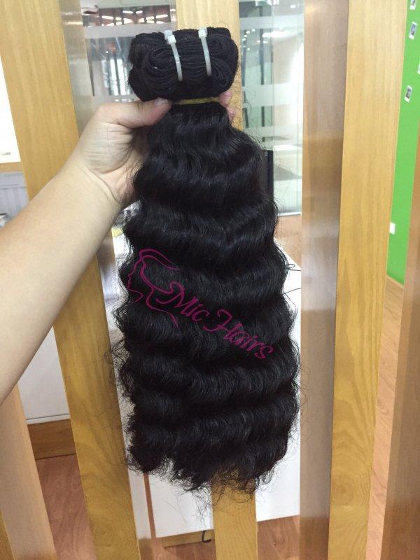 loose_wavy_human_machine_weft_hair