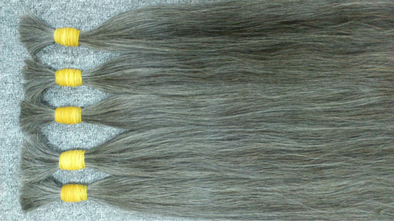 natural_grey_hair_human_hair_60cm_70cm