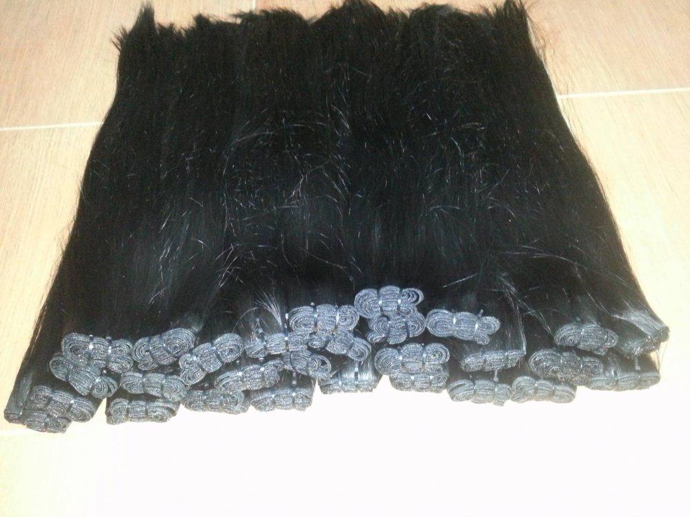 large_stocks_cheap_weft_human_hair_no_tangle_no