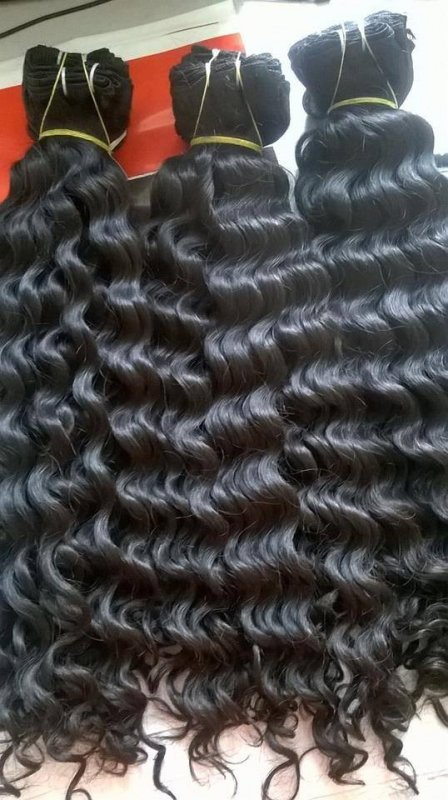selling_wavy_hair_soft_hair_extension