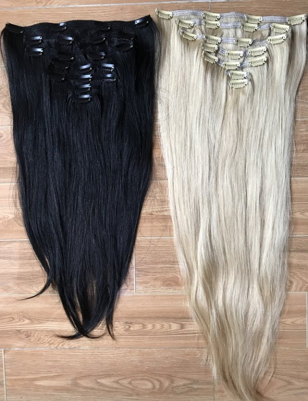 double_drawn_remy_clip_hair_extension