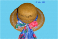 Lady palm hat HX5074