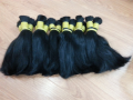 Natural black color #1, #1B Vietnamese virgin hair