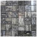 Grey Polished Travertine Mosaic