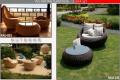 Good Quality PVC Rattan Outdoor Lounge Set