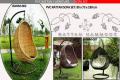 Rattan hammock chair
