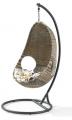 Poly Rattan Basket Chair