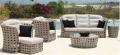 Poly rattan-living/outdoor  sofa set furniture