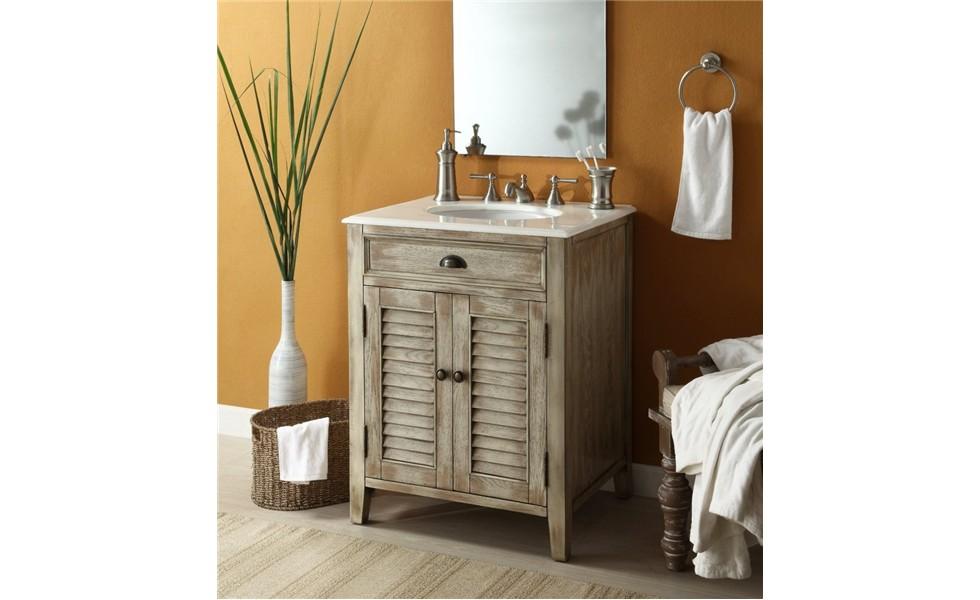 Đặt hàng High quality furniture solid bathroom vanity cabinet for bathroom