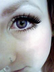 Custom made eyelashes