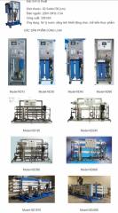 Thiết bị sản xuất nước tinh khiết